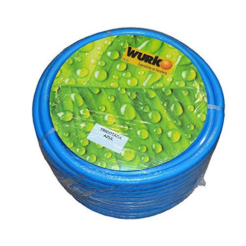Wurko – Flexible, Couleur Bleu 50 m; 25 mm