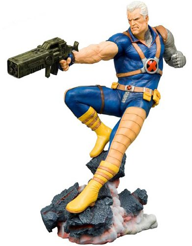 Marvel Collection: Cable Fine Art Statue image