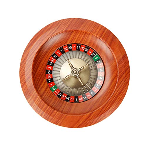 iBaste Roulette Wheel - Holz Roulette Wheel Set Plattenspieler Freizeit Tischspiele, Game Night Essential