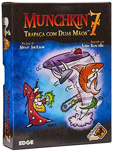 Munchkin 7: Trapaça Com Duas Mãos, Galápagos Jogos, Multicor