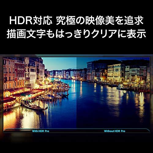 『TCL 50V型 4K液晶テレビ 50K601U HDR搭載 鮮やかな色彩 裏番組録画対応 2019年50インチモデル 50K601U』の2枚目の画像