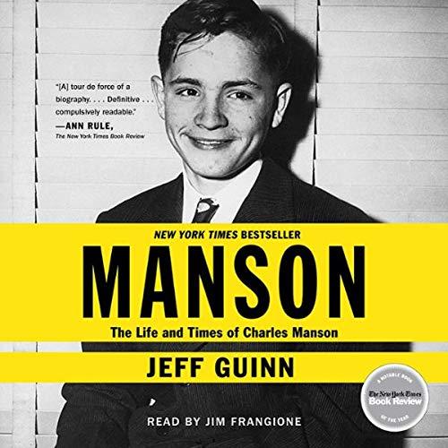 Manson     The Life and Times of Charles Manson              De :                                                                                                                                 Jeff Guinn                               Lu par :                                                                                                                                 Jim Frangione                      Durée : 17 h et 24 min     Pas de notations     Global 0,0