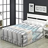 Camatex - Conforter Andrea - Cama 150 cm - Color Malva