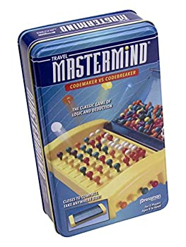 Mastermind in Tin - Exciting Two Player Strategy Game in Convenient Storage Tin by Pressman Multi Color  #3024
