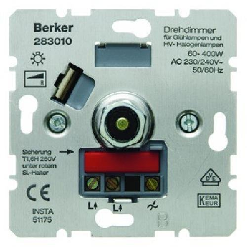 Berker 283010 Drehdimmer 60-400W
