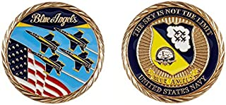 Blue Angels Gold Challenge Coin