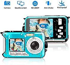 Underwater Camera 24.0MP Waterproof Digital Camera Full...