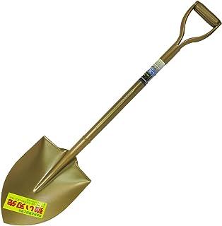 ガーデンフレンズ スチールパイプ柄ショベル 剣型