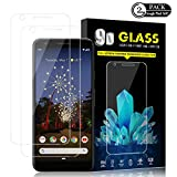 Google Pixel 3a XL Screen Protector by YEYEBF, [2 Pack] Tempered...