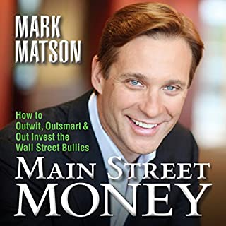 Main Street Money audiobook cover art