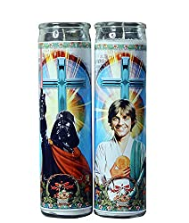 luke and darth vader prayer candles
