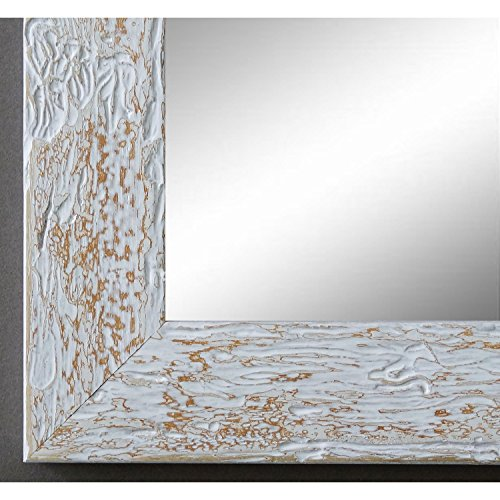 Online Galerie Bingold Spiegel Wandspiegel Badspiegel - Parma Beige 3,9 - handgefertigt - 200 Größen zur Auswahl - Modern, Vintage, Shabby - 50 x 70 cm AM