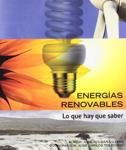 Energías renovables. Lo que hay que saber