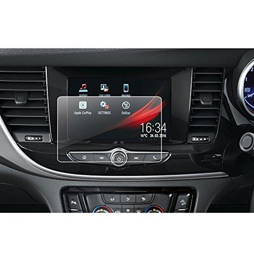 LFOTPP Opel Mokka X 7 Zoll Navigation Schutzfolie - 9H Kratzfest Anti-Fingerprint Panzerglas Displayschutzfolie GPS Navi Folie