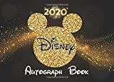 Disney Autograph Book: 2020 Magic Character Signatures Journal with a Double Page for 52 Character Parks 105 Page Disney World and Disneyland Parks Best Gift Vacation