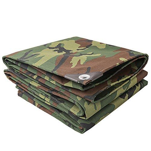 Outdoor-gepolsterte Camouflage Tarnung Plane Leinwand Zelt Poncho Sonnenschutz Poncho Tuch Plane Wasserdichte Plane (größe : 5X6m)