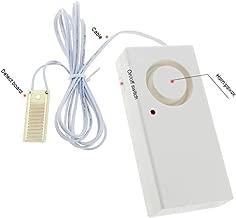 Dnasrivew Battery 2Pcs 120/90db Water Leak Alarm Flood Level Overflow Detector Sensor Alert Tool for Outdoor, Computer Rooms Indoor Alarm Type