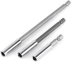 Juego de portabrocas, destornillador con soporte de extensión de broca magnética de 1/4