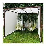 GDMING Filet D'ombrage avec Oeillets 90% Écran Solaire Ventilation Coupe-Vent pour Couverture Végétale Serre Grange Chenil Bassin Pergola, 21 Tailles (Color : White, Size : 3X5m)