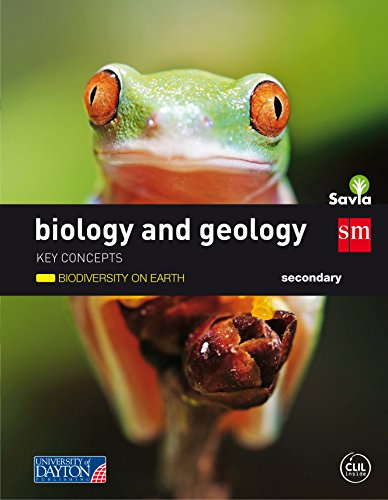 Biology and geology. Secondary. Savia. Key Concepts: Biodiversity on earth - 9788416346967