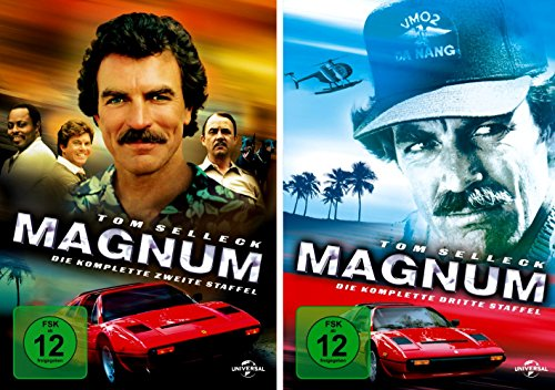 Magnum - Die komplette 2. + 3. Staffel (12-Disc | 2-Boxen)