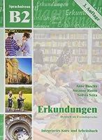 Erkundungen: Kurs- und Arbeitsbuch B2 mit CD