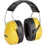 Pretex Protección auditiva profesional con SNR 98 dB, gran comodidad, peso ligero, diadema ajustable sin niveles con certificación CE, protección auditiva, orejas, protección de ruido, protectores
