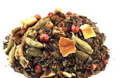 Tulsi Orange-Ingwer, Kräutertee, Ayurvedische Tees, 250g