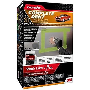 Amazon Com Bondo 30156 1 Pack Complete Dent Repair Kit Pn30156 Automotive