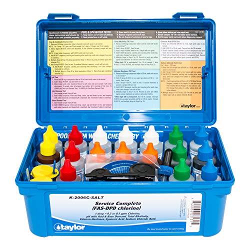 Taylor K-2006C-SALT Complete (FAS-DPD Chlorine) Test Kit