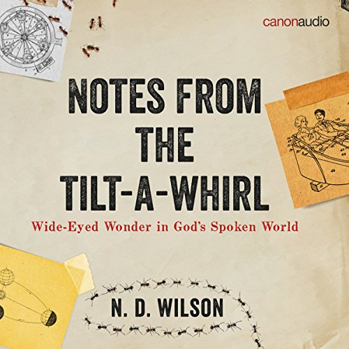 Notes from the Tilt-a-Whirl audiobook cover art