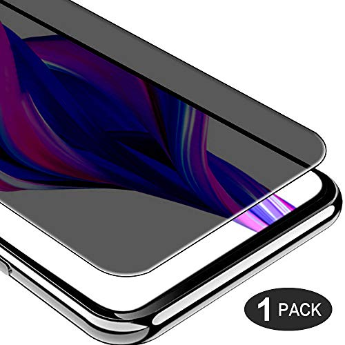 TUUT Templado Vidrio Anti-Spy Protector de Pantalla Huawei P Smart Pro, Privacidad Anti-espía Peeping [9H] Dureza [sin Burbujas] Screen Guard Tempered Glass Película Protectora