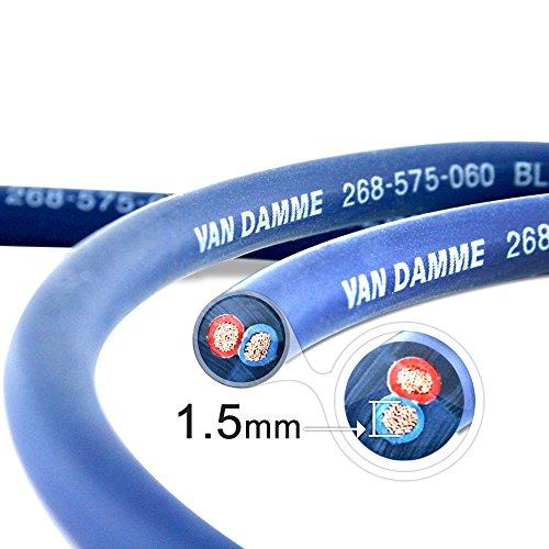 Van Damme Profesional Blue Series Studio Grado 2 x 1,5 mm (2...