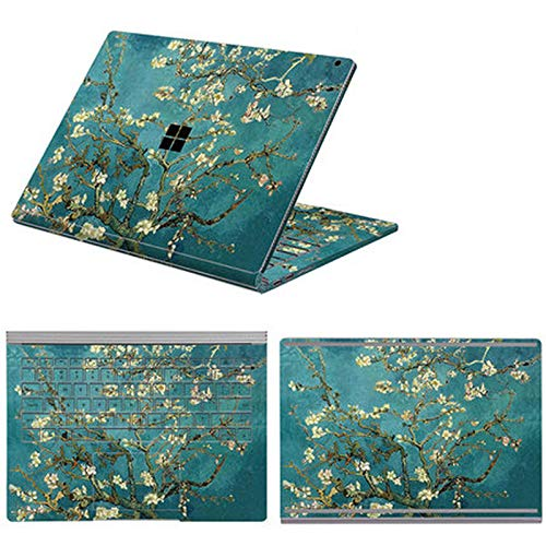Full Body Cover Stickers for Microsoft Surface Book 3 Book 1/2 13.5 15 Inch Waterproof Decorative Laptop Protector Shell Skin-Option 3-Book 3 15 i7