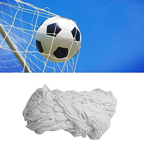 Fußballtornetz Ersatznetz Tornetze Fußball Netz Ersatz Fußballnetz für Tore Fußballto Fußball Goalie Net Multi-Size Fußball Net Sport Ersatz Fußball Tor Post Net(6X4FT)