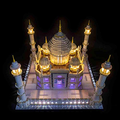 YOU339 LED Licht Set for Lego Taj Mahal 10256, USB Powered LED Lichtbaustein Modified Kit, BAU Bildung Montage Kit Spielzeug Geschenk (nur LED enthalten)