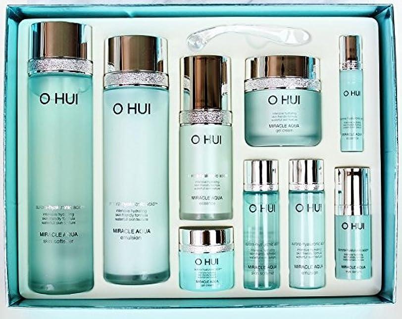 迫害する肉腫現実Ohui オフィミラクルアクア4種スペシャルギフトセット Miracle Aqua 4-piece Special Gift Set [並行輸入品]