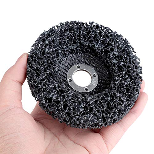 F-MINGNIAN-TOOL, 1Pc 100 * 16mm Metaal Polijsten Wielen Slijpschijf Voor Schone Verf Metalen Roest Remover Voor Dremel Accessoires Hoek Grinder Tool