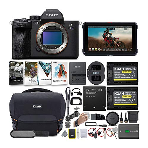 Sony Alpha a7S III Mirrorless Digital Camera Raw...
