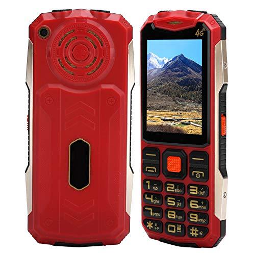 Teléfono móvil con botón para personas mayores,teléfono móvil con botón grande para personas mayores,teléfono 2G GSM con doble modo de espera y doble tarjeta con botón SOS,32MB+32MB,5900 mAh (EU)
