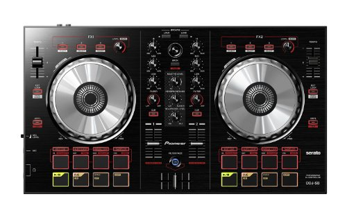 Pioneer DDJ-SB controlador dj - controladores dj (USB B, 3.5 mm/6.35 mm, USB, Mac OS X 10.6 Snow Leopard, Mac OS X 10.7 Lion, Mac OS X 10.8 Mountain Lion, Mac OS X 10.9 Mavericks, Intel Core 2 Duo, 2 GHz) Negro