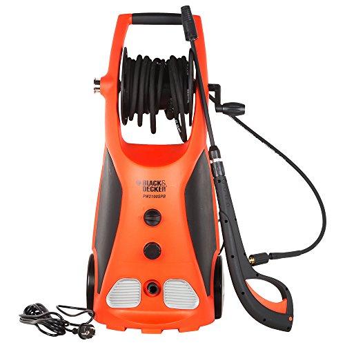 Black & Decker PW1370 100-Bar Pressure Washer (Orange and Black)