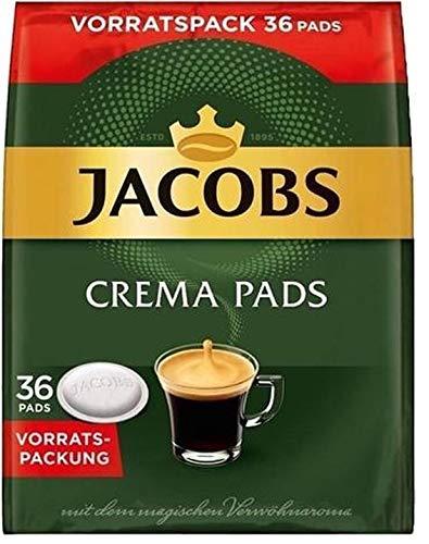 Jacobs Crema Kaffeepads 5 x 36 st.