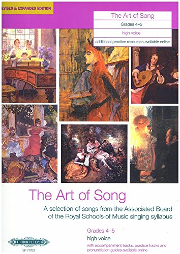 ART OF SONG GRADES 45