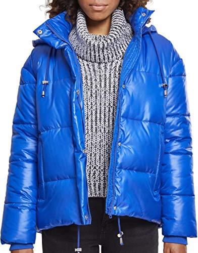Urban Classics Damen Ladies Vanish Puffer Jacket Jacke, Blau (Royalblue 01482), XXXX-Large
