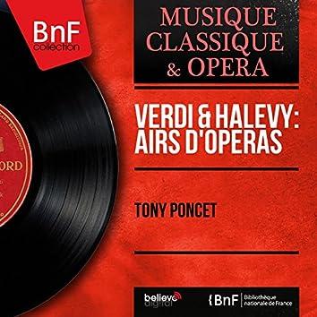 Verdi & Halévy: Airs d'opéras (Mono Version)