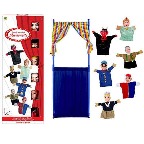 Marionette - Il Grande Teatro delle Marionette - Mazzeo Giocattoli