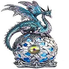 Perfect gift for those that love Dragon Great design and craftsmanship Measurement: H: 8.25 Information: LED light, 3 LR44 batteries Included