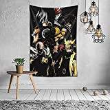 Kodiro One Punch Man Saitama Luffy Anime Cosplay Wall Tapestry For Bedroom Wall Hanging Tapestries Posters Home Decor Trippy Gifts (60 X 40 Inches)