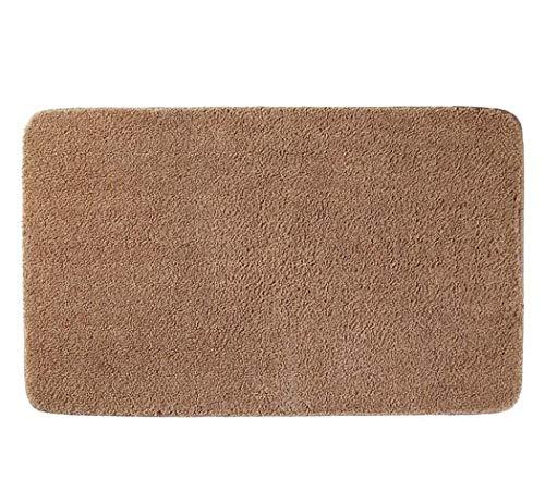 Antirutschmatten Maschine waschbar Teppich Absorbent Badezimmer für Heim Teppich Fußmatten Mats,Champagne,40×60cm